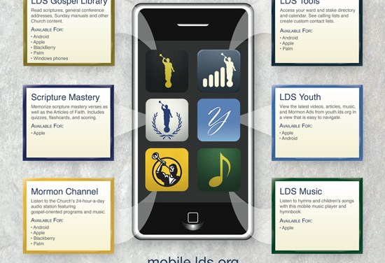 LDS Mobile Apps: Infographic & New Music iOS App