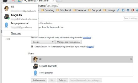 Use Chrome Users for Family Computer Sharing & Productivity
