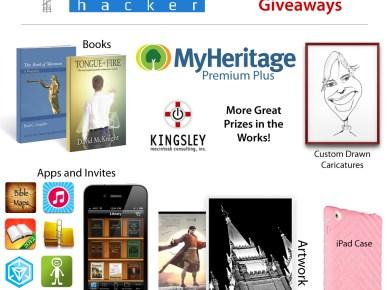 Mormon Life Hacker giveaway 2012 prizes