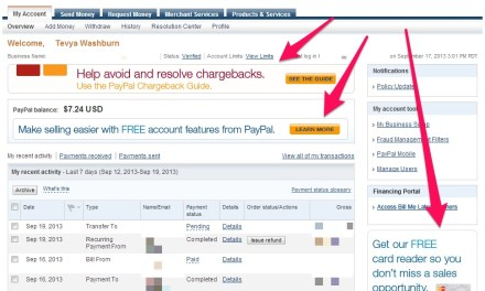 """How To Remove the """"Ads"""" From Your PayPal Account"""