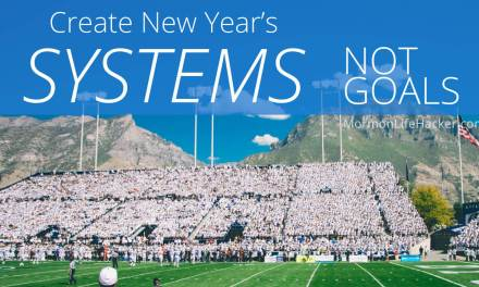 Create New Year's Systems, Not Goals