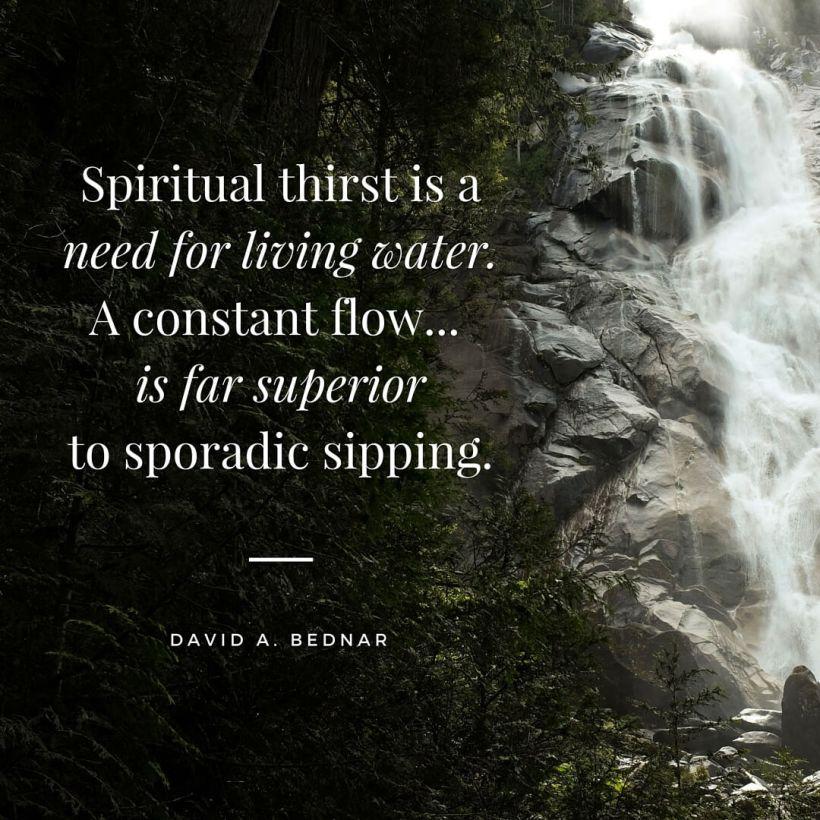 spiritual-thirst-living-water-bednar