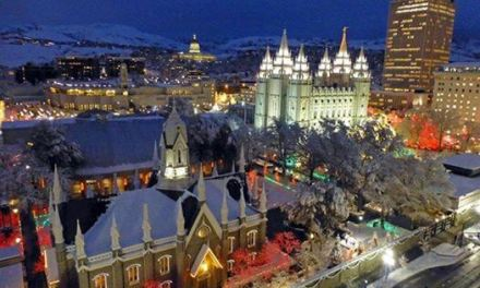 The other Mormon Church light displays that rival Temple Square at Christmas . . .