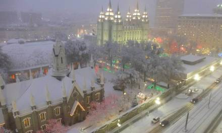 Why TEMPLE SQUARE is still the best place in the world for Christmas lights