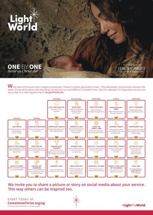#LightTheWorld 2020 calendar eng sg op 1123