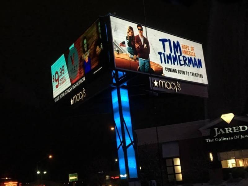 Tim Timmerman billboard #TimTimmerman