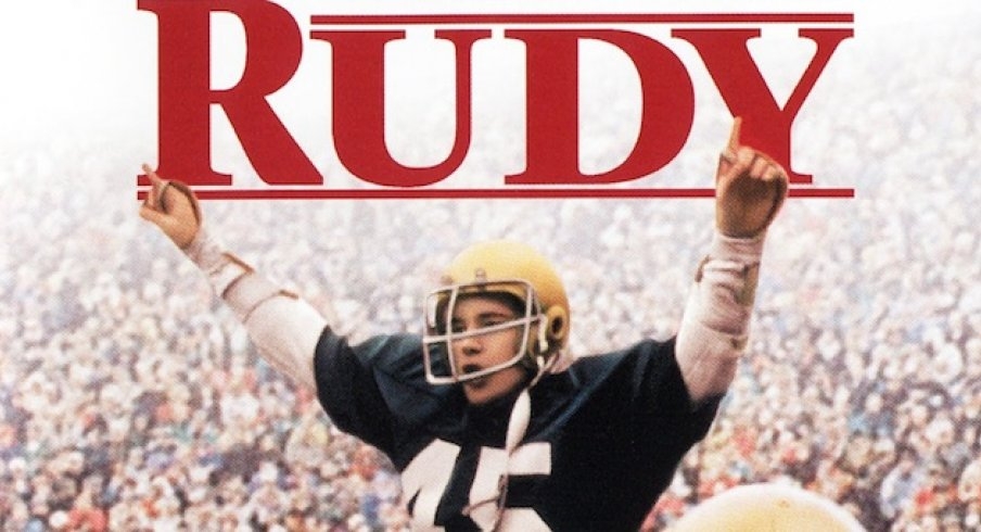 RUDY (Notre Dame football player) joins The Church of Jesus Christ of Latter-day Saints!