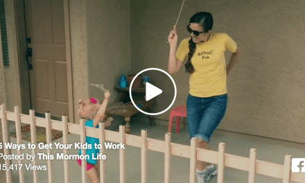 A video that teaches families about the principles of work (and invites David Archuleta and JamesTheMormon along)