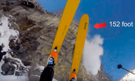 LDS man skis off 152 foot cliff and survives!