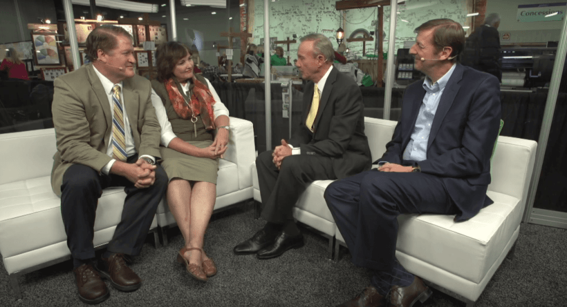 Scot and Maurine Proctor of Meridian Magazine sit down with Steve Rockwood, the President of Family Search International and Elder Bradley D. Cook, the Executive Director of the LDS Church's Family History Department RootsTech 2017