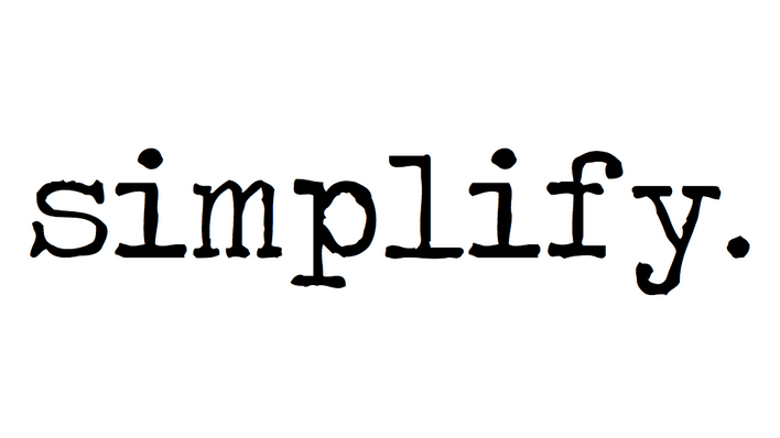 A Message From Apostles: Simplify [video]