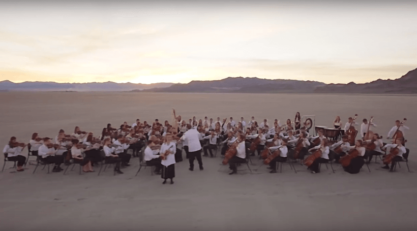 """The touching story behind the Lyceum Orchestra's """"If You Could Hie to Kolob"""""""