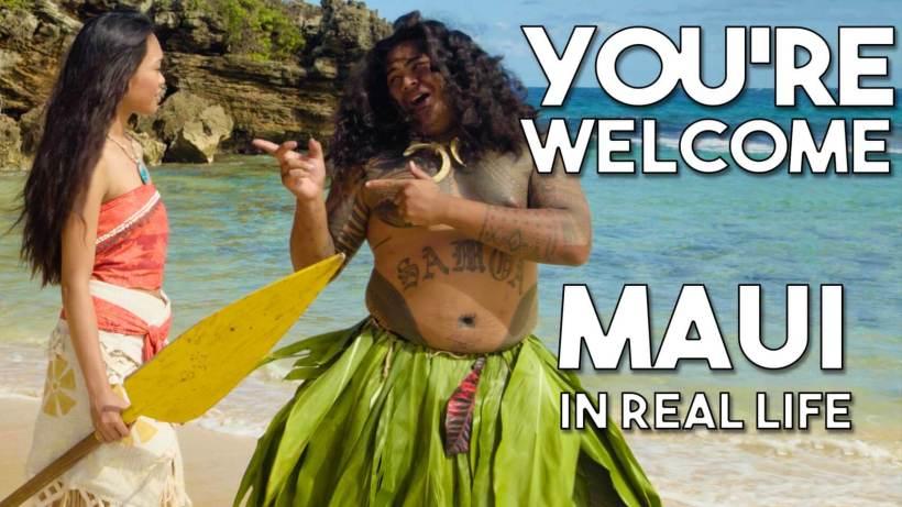 Moana youre welcome