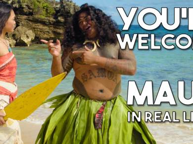 Moana youre welcome