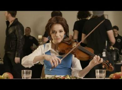 Lindsey Stirling released her BEAUTY AND THE BEAST video! Did you know she also created other videos to share her beliefs about the Church? Take a look!
