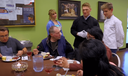 Stuart Edge, Logan Jr. Chef, and Random Acts TV combine to stamp out hunger at a homeless shelter
