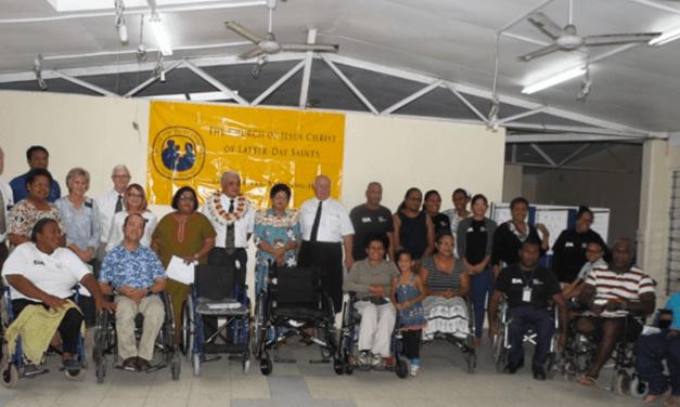 Fiji: LDS Church donates 296 wheelchairs to the Spinal Injury Association of Fiji
