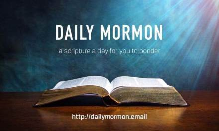 DAILY MORMON, the FREE service that emails you a verse of scripture from the Book of Mormon that you can ponder every day