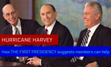 Hurricane Harvey: How the First Presidency says members can help