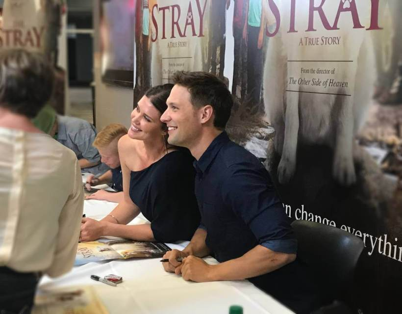 Sarah and michael the stray premiere