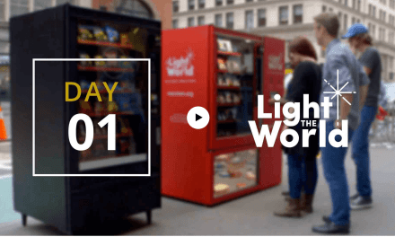 Vending Machines Provide Instant Acts of Service for LDS Church's #LightTheWorld Initiative