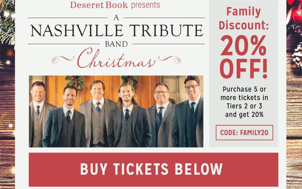 The Nashville Tribute Band inspires people on Hi Five Live! #LightTheWorld