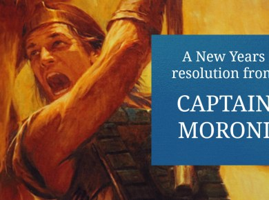 Moroni AMmoron Book of Mormon LDS Life Hacker