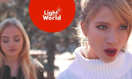 """Monica Moore Smith & Madilyn Paige #LIGHTtheWORLD with """"Mary Did You Know?"""""""