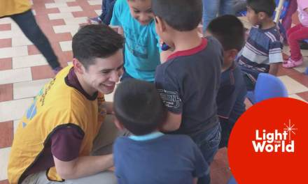David Archuleta visits an orphanage in Lima and helps to #LightTheWorld in Peru