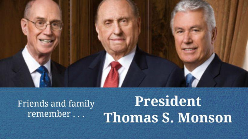 Thomas S. Monson obituary death #LDS LDS Mormon Life Hacker