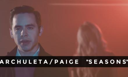 "Listen to David Archuleta's new relationship song ""Seasons"" #SeasonsMusicVideo"