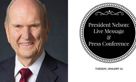 Live Message from President Russell M. Nelson
