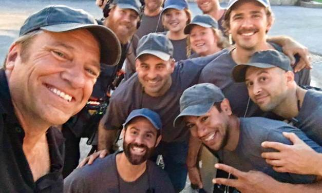 RETURNING THE FAVOR: Host Mike Rowe travels the country in search of remarkable people making a difference in their communities