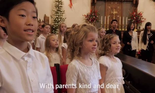 """""""I am a Child of God"""" by One Voice Children's Choir – featuring bless4 (from #MeetTheMormons)"""