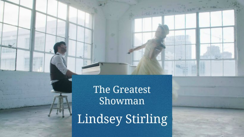 Lindsey Stirling Greatest Showman YouTube LDS Mormon