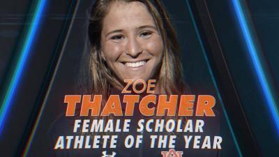 Zoe thatcher scolar athlete