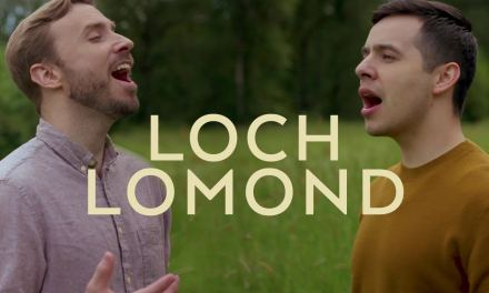 """David Archuleta and Peter Hollens combine on """"Loch Lomond,"""" a well-known traditional Scottish song"""