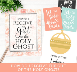 primary baptism how do I receive the gift of the holy ghost? LDS Mormon