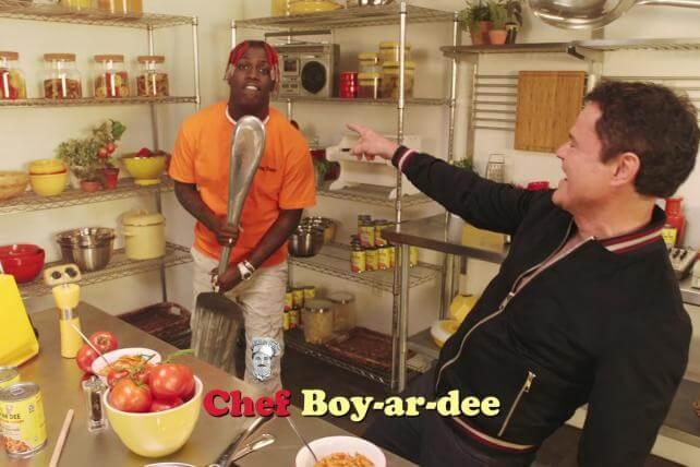 Chefboyardee throwbackrecipe Donny Osmond LDS Mormon Yachty