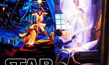 Art that connects Stars Wars, Moroni, and Joseph Smith. It exists . . .