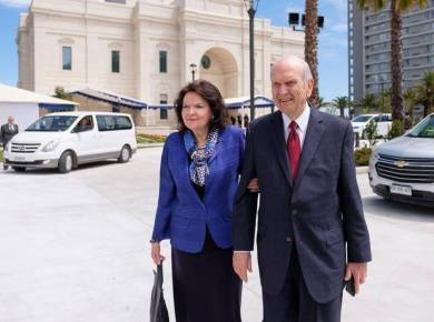President nelson wendy chile temple