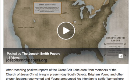 Why did the Latter-day Saint trek westward end in the Salt Lake Valley?