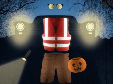 #ZeroFatalities Halloween safety Utah Zero Fatalities