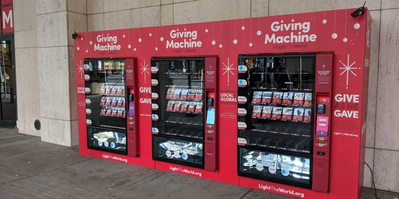 VIDEO: #LightTheWorld Advocates Give Over $2.3 Million Through Vending Machines