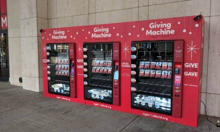 The #LightTheWorld Giving Machines are back with more worldwide locations!