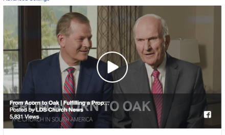 From Acorn to Oak: President Nelson discusses the growth of the Church in South America