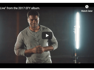 """""""Live"""" by recording artist Yahosh, from the 2017 EFY album is a call to to cherish every moment in your life! We do that by loving and serving each other in word and how we treat each other."""