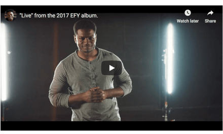 "VIDEO: ""Live"" by Yahosh (from the 2017 EFY album)"
