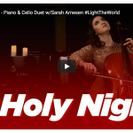 The Piano Gal is back (with Sarah Arnesen) to help #LightTheWorld with inspirational music!