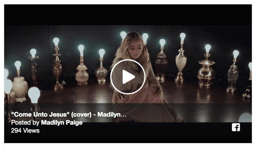 Come Unto Jesus (Cover) | Madilyn Paige